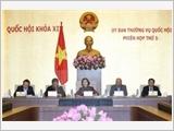 Bế mạc Phiên họp thứ 5 Ủy ban thường vụ Quốc hội khóa XIV
