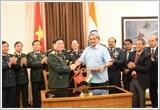 Đoàn đại biểu quân sự cấp cao Việt Nam thăm hữu nghị chính thức Cộng hòa Ấn Độ