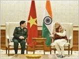 Đại tướng Ngô Xuân Lịch kết thúc tốt đẹp chuyến thăm hữu nghị chính thức Ấn Độ