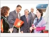 Chủ tịch Quốc hội Nguyễn Thị Kim Ngân đến Niu Đê-li, bắt đầu thăm chính thức Cộng hòa Ấn Độ