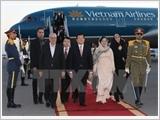 Chủ tịch nước Trương Tấn Sang đến Tehran, bắt đầu chuyến thăm Iran