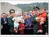 Chung tay xây dựng biên giới nhân dân, lòng dân