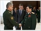 Bộ trưởng Quốc phòng Ngô Xuân Lịch thăm chính thức Liên bang Nga