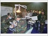 Diễn tập triển khai Đội điều trị dự bị động viên tỉnh Hòa Bình - kết quả và kinh nghiệm