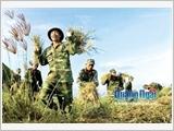 """Lực lượng vũ trang Quảng Ngãi thực hiện tốt phong trào """"Dân vận khéo"""""""