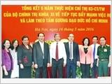 Hội nghị toàn quốc tổng kết 5 năm thực hiện Chỉ thị 03 của Bộ Chính trị (khóa XI)