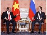 Thủ tướng Nguyễn Xuân Phúc hội đàm với Thủ tướng Liên bang Nga Đ.Mét-vê-đép