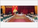Vĩnh Phúc tập trung xây dựng khu vực phòng thủ tỉnh vững chắc