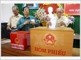 Thêm 12 tỉnh công bố kết quả bầu cử đại biểu Quốc hội và Hội đồng Nhân dân