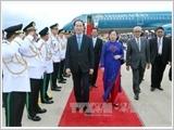Chủ tịch nước bắt đầu chuyến thăm Campuchia