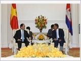 Chủ tịch nước kết thúc chuyến thăm Campuchia