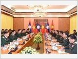Bộ trưởng Bộ Quốc phòng Lào thăm hữu nghị chính thức Việt Nam