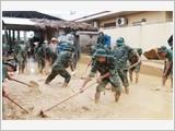 Quân đội tiếp tục nâng cao hiệu quả công tác phòng, chống thiên tai, sự cố và cứu hộ, cứu nạn
