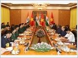 Thúc đẩy quan hệ hợp tác quốc phòng Việt - Ấn