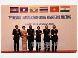 Hội nghị Bộ trưởng Ngoại giao hợp tác Mekong - Sông Hằng ra tuyên bố chung