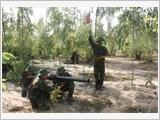 Trường Quân sự Quân đoàn 3 gắn lý luận với thực tiễn