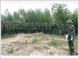 Phú Thọ xây dựng lực lượng vũ trang địa phương vững mạnh