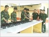 Lực lượng vũ trang Bắc Giang học tập và làm theo Bác