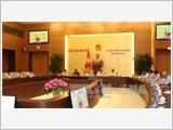 Bế mạc Phiên họp thứ hai của Ủy ban Thường vụ Quốc hội