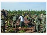 Các đơn vị Quân đội với nhiệm vụ phòng chống, khắc phục hậu quả thiên tai trên địa bàn Nam Bộ