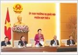 Khai mạc phiên họp thứ sáu của Ủy ban Thường vụ Quốc hội