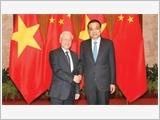 Tổng Bí thư Nguyễn Phú Trọng hội kiến Thủ tướng Lý Khắc Cường, Chủ tịch Quốc hội Trương Đức Giang, Chủ tịch Chính hiệp Du Chính Thanh
