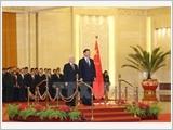 Những dấu ấn nổi bật trong chuyến thăm Trung Quốc của Tổng Bí thư