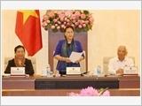 Khai mạc phiên họp thứ 15 của Ủy ban Thường vụ Quốc hội