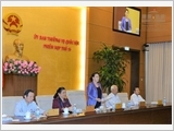 Bế mạc Phiên họp thứ 15 của Ủy ban Thường vụ Quốc hội
