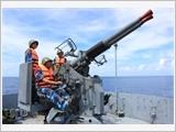 Lữ đoàn 125 Hải quân tập trung nâng cao chất lượng tổng hợp