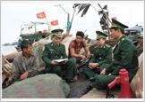 Bộ đội Biên phòng Thái Bình đẩy mạnh tuyên truyền, phổ biến, giáo dục pháp luật cho nhân dân khu vực biên giới biển