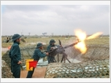 Phú Xuyên đẩy mạnh huấn luyện dân quân tự vệ