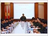 Toàn quân tiếp tục nâng cao ý thức tôn trọng, nghiêm chỉnh chấp hành pháp luật Nhà nước, kỷ luật Quân đội