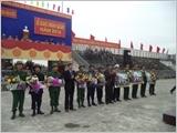 Huyện Hậu Lộc tăng cường lãnh đạo xây dựng khu vực phòng thủ vững chắc