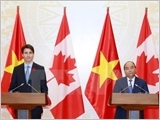 Tuyên bố chung xác lập quan hệ Đối tác toàn diện Việt Nam - Canada