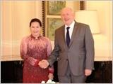 Chủ tịch Quốc hội Nguyễn Thị Kim Ngân hội kiến Toàn quyền Australia
