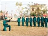 Thành phố Hải Phòng đẩy mạnh thực hiện Luật Dân quân tự vệ