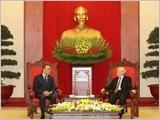 Tổng Bí thư Nguyễn Phú Trọng; Thủ tướng Nguyễn Xuân Phúc tiếp Chủ tịch Hạ viện Ma-rốc E.Man-ki