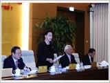 Khai mạc phiên họp thứ bảy của Ủy ban Thường vụ Quốc hội
