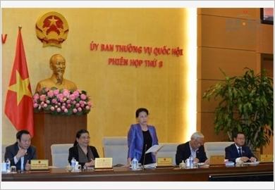 Bế mạc phiên họp thứ tám của Ủy ban Thường vụ Quốc hội khóa XIV