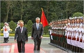 Tuyên bố chung Việt Nam - Xin-ga-po
