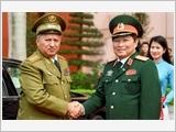 Bộ trưởng Bộ các Lực lượng Vũ trang Cách mạng Cu-ba thăm Việt Nam