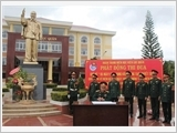 Học viện Lục quân gắn thực hiện Chỉ thị 05 với ba nội dung đột phá
