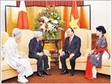 Thủ tướng Nguyễn Xuân Phúc hội kiến Nhà vua và Hoàng hậu Nhật Bản