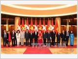 Chủ tịch Hội đồng Nhà nước Liên bang Thụy Sỹ kết thúc chuyến thăm Việt Nam