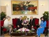 Tổng Bí thư Nguyễn Phú Trọng hội kiến Nhà vua và Hoàng hậu Nhật Bản