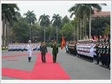 Tổng Tư lệnh Các lực lượng vũ trang Myanmar thăm hữu nghị chính thức Việt Nam
