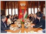 Chủ tịch Quốc hội Nguyễn Thị Kim Ngân kết thúc tốt đẹp chuyến thăm chính thức Hung-ga-ri