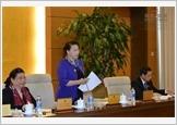 Khai mạc phiên họp thứ chín của Ủy ban Thường vụ Quốc hội khóa XIV