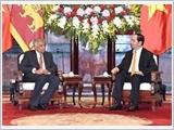 Tổng Bí thư, Chủ tịch nước, Chủ tịch Quốc hội tiếp; Thủ tướng Chính phủ đón, hội đàm với Thủ tướng Xri Lan-ca